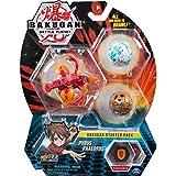 Bakugan Starter Pack mit 3 Bakugan (1 Ultra & 2 Basic Balls), unterschiedliche V