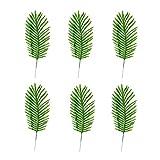 Gofeibao Künstliche Pflanze Eukalyptus Pflanze Künstliche Blätter Girlande Künstliche Blätter für Hochzeitsdekoration Handgemachte Girlande Blätter Green