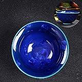 Jianzhan Binghuazhan Tasse Keramiköl tropfende Teeschale Kung Fu Tee Set Teetasse (1 Stück)