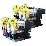 10 YouPrint Patronen für Brother LC-223 XL für Brother DCP-J4120DW, MFC-J4420DW, MFC-J4620DW, MFC-J4625DW, MFC-J5320DW, MFC-J5620DW, MFC-J5625DW, MFC-J5720DW ersetzen LC223-BK, LC223-C, LC223-M und LC223-Y