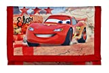 Geldbeutel mit Namen | Motiv Cars inkl. NAMENSDRUCK | personalisiert & Bedruckt | Geldbörse Kindergeldbeutel Klettverschluss Klarsichteinschub Münzfach