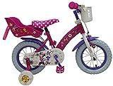 Minnie 12 Zoll Fahrrad Mouse Stahlrahmen Kinderfahrrad Disney Maus 31226