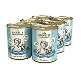 Boswelia Landhausküche Katze Känguru mit Kartoffeln und Geflügel 6X 400 g für alle Katzenrassen geeignet schonend gegart gesunder Stoffwechsel Dank Taurin