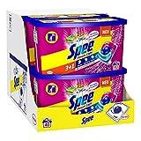 Spee Power Caps Color 3+1, Colorwaschmittel, 240 (6 x 40) Waschladungen, Reinheit, Strahlkraft und Frische für deine Buntwäsche zum schlauen Preis, 20-60°