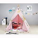 Indisches Zelt Kinderzelt Baby Spiel Haus Prinzessin Zimmerzelt Indoor Shooting Studio,Rosa