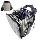 JONGSUN Kameraobjektiv Filtertasche Aufbewahrungsbox mit Schultergurt für 1 Filterhalter und 6 Filter (100 x 100 mm & 100 x 150 mm Foto/Videofilter Quadratische Rechteckige Filter)