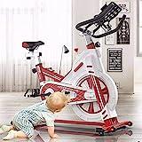 YLJYJ Smart Heimtrainer Heimtrainer Indoor Spinning Bike Professional Indoor Sports Equipment All-Inclusive, Ultra Leise Fitness Übung Heimtrainer