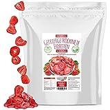 Erdbeeren gefriergetrocknet • 300g gefriergetrocknete Früchte in Scheiben • 100% natürlich und frei von Zusatzstoffen • besonders fruchtig • in Deutschland hergestellt