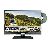 Gelhard GTV1682PVR DVD 16 Zoll Widescreen TV DVB-S2-T2 Full HD 12/24/230 Volt mit PVR-Funktion