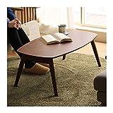 """HONGFEISHANGMAO Couchtisch Beistelltisch Holzklappcouchtisch, rechteckig Beistelltisch Kleiner Teetisch Holzmöbel, 39,4 """"x 21,7"""" x 15,7' Dekorativer Sofa Kaffee Tisch (Color : Brown)"""