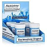 ALKORIN® dem nächsten Tag zuliebe. Unterstützt die Leberfunktion mit Cholin. Multivitamin Basenpulver mit Magnesium, Zink, Folsäure, Elektrolyten, Vitamin B-Komplex B1 + B2 + B3 + B5 + B6 + B12