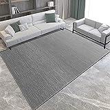 YZHY Teppich Wohnzimmer Schlicht Und Modern Kurzflor,100% Polyester,Hochwertiger - Schadstoffgeprüft In- & Outdoor Teppich,fürs Wohnzimmer,Schlafzimmer,Esszimmer oder Kinderzimmer G