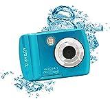 Aquapix 'Splash' Unterwasserkamera wasserfest bis 3 m, bis zu 16 MP Auflösung, 6,1cm (2,4 Zoll) Display, 8X Digital-Zoom, 5 MP Sensor, Eisb