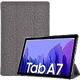 ProCase Hülle für Galaxy Tab A7 10.4 Zoll 2020 (T500/ T505/ T507) Schutzhülle Smart Cover, Ultra Dünn Slim Licht Stand Klappen Schutzhülle –HellGrau