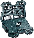 Brüder Mannesmann M98430 Steckschlüsselsatz 0,6 cm (0,25 Zoll) + 0,95 cm (3/8 Zoll) + 1,27 cm / (1/2 Zoll) Antrieb, 215-tlg