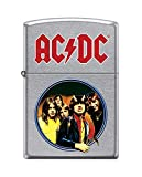 Zippo AC/DC Feuerzeug, Messing, Design, 5,83,81,2