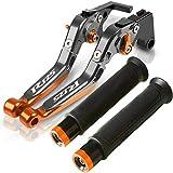 TYFF Kupplungsbremse Für Yam&aha YZF R125 YZF-R125 YZF R 125 2008 2012 2011 2010 2009 2009 13 Motorradbremse Kupplungshebel Lenker Handgriffe Set (Farbe : 6)
