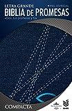 Biblia de Promesas/ Compacta / Piel Especial Jean Con Zipper