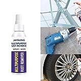 Kousa Rostentferner-Spray, 30 ml, Mehrzweck-Rostschutz, Metall, Eisen, Oberflächenfarbe, Abwischen, Korrosionsschutz für Autowartung