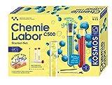 Kosmos 642136 C500 - Chemielabor, Starter-Set, Laboraustattung für Einsteiger, Chemie für Kinder ab 9 Jahre,Einsteigerlehrgang, Experimentierkasten