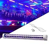 UV LED Schwarzlicht,10W UV Schwarzlicht Lamp Beleuchtung für DJ Parties, Clubs, Halloween, Idealer Lichteffekt und Angenehme Atmosphäre