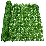 CYYAN Efeu Künstlich Efeu Hängend Girlande, Sichtschutz Windschutz Verkleidung dekorativer Zaun Zaun gartenzaun zaunelemente gartenzaun Komplettset steckzaun
