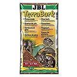 JBL TerraBark 71022 Bodensubstrat, für Wald und Regenwaldterrarien, Pinienrinde, 10 - 20 mm, 20