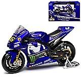 Yamaha YZR-M1 GP18 MotoGP Nr 46 2018 Valentino Rossi 1/18 Maisto Modell Motorrad