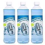 3x1 L Scherkopfreiniger Nachfüllflüssigkeit   Reinigungsflüssigkeit für Reinigungskartuschen   geeignet für Panasonic Reinigungsstationen LV97 - LV95 - LV67