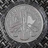 1 Unze Silbermünze Wiener Philharmoniker 2021 oz Silber einzeln in Münzkapsel verpackt