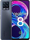 realme 8 Pro Smartphone ohne Vertrag, 108 MP Infinity-Kamera Android Handy, 6,4Zoll Super AMOLED-Vollbildschirm, 50 W SuperDart Charge, Starker 4500-mAh-Akku, Dual Sim, NFC, 6+128GB, Infinite Black