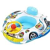 JPYZ Baby Schwimmring, Aufblasbarer Kinder Schwimmring, Schwimmsitz Kleinkinder, Schwimmhilfen Aufblasbares Kinderboot, Kleinkinder ab 6 Monate bis 3 Jahre