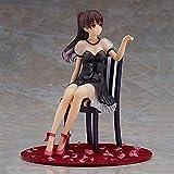 Anime Figure Mädchen Megumi Kato Anime Hübsches Mädchen Rot High High Heels Schwarz Kleid Action Figure Spielzeug Spielzeug PVC Modell Vorlage 20 cm Sammlung PVC Figur Code Geburtstag Sammlung