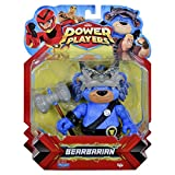 Power Players Figur, 12 cm, Barbarour, 10 Gelenkpunkte & Zubehör, Spielzeug für Kinder ab 4 Jahren, PWW017