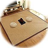ACUIPP Korridor Teppichring Ring Teppich Bambusmatte Atmungsaktive Sommermatte Wohnzimmer Teppich, Luftfaser Nicht Verformt Formaldehyd Kostenlos Nicht Verblassen Langlebig, Benutzerdefinierte Größe,
