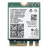 VANLONTD WiFi 6 AX200 WiFi Card   2400Mbps Wireless Module   Bluetooth 5.1 WiFi 6 Modul   802.11AX Dual Band Wireless Adapter für Laptop Desktop mit Intel Modell Chrome OS, Windows 10 und Linux