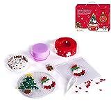 BENGKUI Puzzle, Weihnachtsbaum Spieluhr DIY Puzzle Kinder Lernspielzeug für Kinder Weihnachten Geburtstagsgeschenk Home Decoration