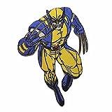 Marvel Comics X-Men Wolverine Aufnäher 10,2 cm hoch bestickt