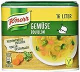 Knorr Gemüsebouillon Dose vegan ( Ergiebigkeit 16 Liter), 1er Pack ( 1 x 320g )