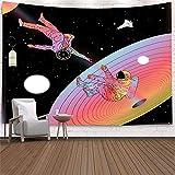 YYRAIN 3D-Druck Polyesterdruck Sci-Fi Weltraum Wandteppich Geeignet Für Wohnzimmer Schlafzimmer Hintergrund Wandteppiche 59x51 Inch {150x130cm}