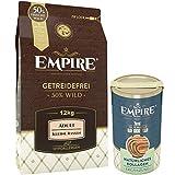 Empire Trockenfutter für Erwachsene Hunde | 12kg+120g Kollagen | Getreidefreies Hundefutter für Kleine Rassen bis 25 kg | 50% Frisches Wildfleisch & Wildschweinleber | 100% Natürlich