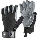Black Diamond Erwachsene Handschuhe Crag Half Finger Gloves, Black, L