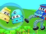 Sprung Truck zur Rettung / Das fehlende Baby Auto / Superhelden Baby Auto / Der Süßigkeiten Truck ist krank