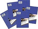 AVERY Zweckform 223 Fahrtenbuch für PKW (vom Finanzamt anerkannt, A5, auf 80 Seiten für insgesamt 858 Fahrten) 5 Stück