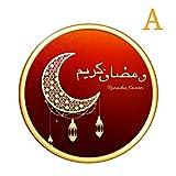 Eid Mubarak Ramadan Spiegel Dreidimensionale Wandaufkleber Dekoration Schlafzimmer Removable Vinyl Wall Muslim Sign Waterproof Decals Stickers Wall Art Stickers Wohnzimmer Wandaufkleb