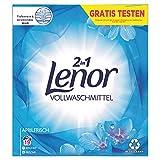 Lenor Waschmittel Pulver, Waschpulver, Vollwaschmittel, 19 Waschladungen, Lenor Aprilfrisch mit Duft von Frühlingsblumen (1.235 kg)