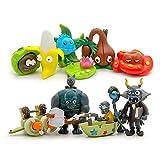 xingguang Anime-Figuren, 10 Stück/Set, Plant VS Zombie Serie 3, Anime-Figur, Spielzeug, 2–7 cm, PVZ, PVC, Generation 9, Modell, Sammlerpuppen, Kinderspielzeug