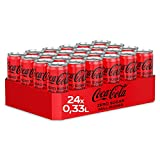 Coca-Cola Zero Sugar EINWEG Dose, (24 x 330 ml)