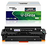 SINOPRINT Kompatible Tonerkartusche für HP 410A CF410A 410X CF410X für Color Laserjet Pro MFP M477fdw M477fdn M477fnw M452dn M377dw M452dw M452nw Drucker HP410A HP410X (1 schwarz)