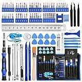 Mini Feinmechaniker Schraubendreher Set, YOVOCA 90 in 1 Reparatur Werkzeug Set, Präzisionsschraubendreher Set für Telefon, Laptop, Tablet, Uhren, Kamera, PS4